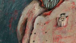 "Recherches graphiques ""Pocket man "" © Ana Chubinidze"