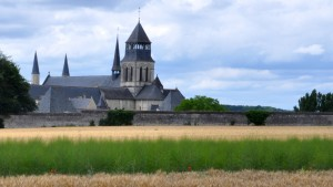 Vue de l'Abbaye de Fontevraud © Photo de Julien Bisaro