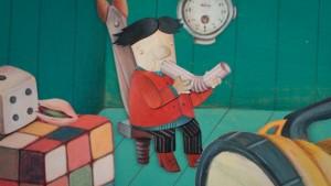"""Pocket man "" © Ana Chubinidze"