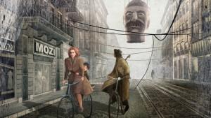 """Recherche graphique pour le projet """"Carpelle"""" © Tibor Banoczki et Sarolta Szabo"""