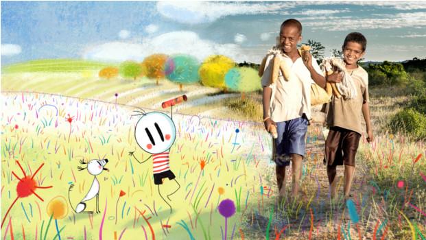 """Menino et les enfants du monde"" © Pauline Brunner & Marion Verlé"