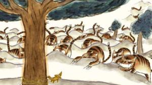"""© """"Tigres à la queue leu leu"""" de Benoît Chieux, 2015"""