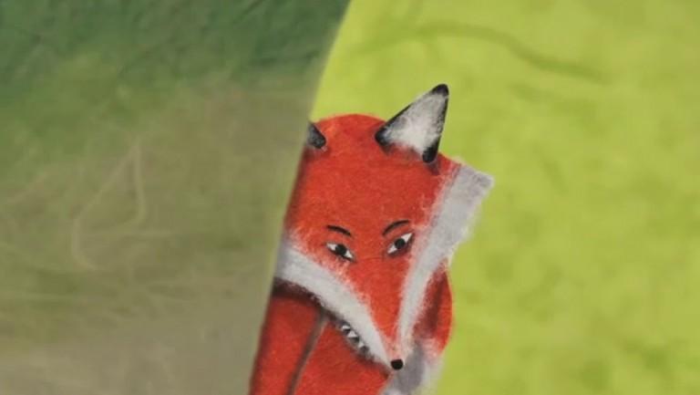 Le renard minuscule © Aline Quertain, Sylwia Szkiladz