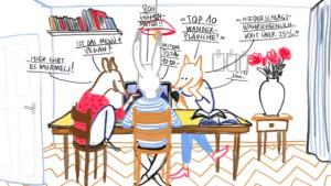 """Recherches graphiques pour le projet """"Mit Alles"""" © Andrea Schneider"""