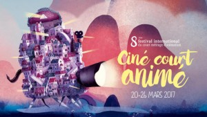 """Visuel du Festival """"Ciné court animé"""" 2017"""