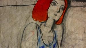 """Recherches graphiques pour le projet """"Herbe Verte"""" © Elise Augarten"""